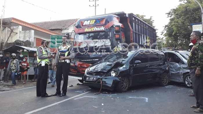 Kronologi Truk Fuso Tabrak 11 Mobil di Kota Batu, Sopir Syok dan Minta Dibawa ke Kantor Polisi