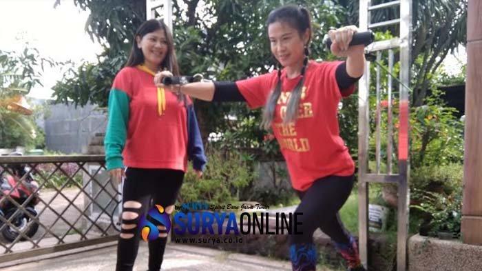 Tetap Langsing dan Otot Kencang Selama 'di Rumah Aja' dengan Latihan TRX plus Zumba Virtual