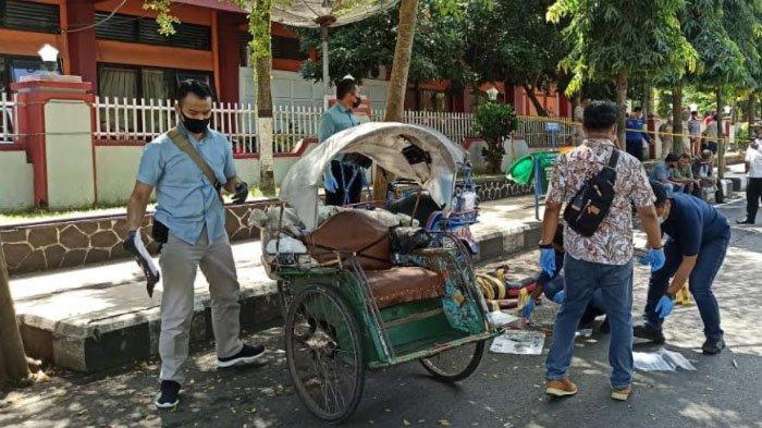 Kronologi Tukang Becak Tewas Dibacok di Alun-alun Trenggalek Dipicu Rebutan Rejeki Tak Terduga