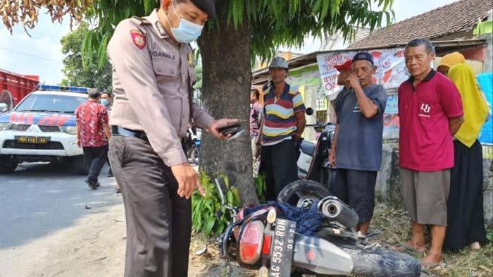 Yamaha Vixion vs Pikap di Jalan Mayor Sujadi Tulungagung, Pengendara Motor Tewas di Lokasi
