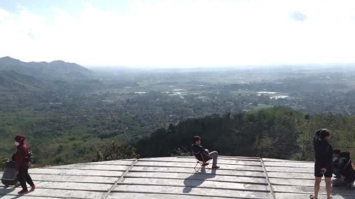 Puncak Jowin Tulungagung, Track Sepeda Tawarkan Pemandangan Kecamatan Kalidawir dari Atas Pegunungan