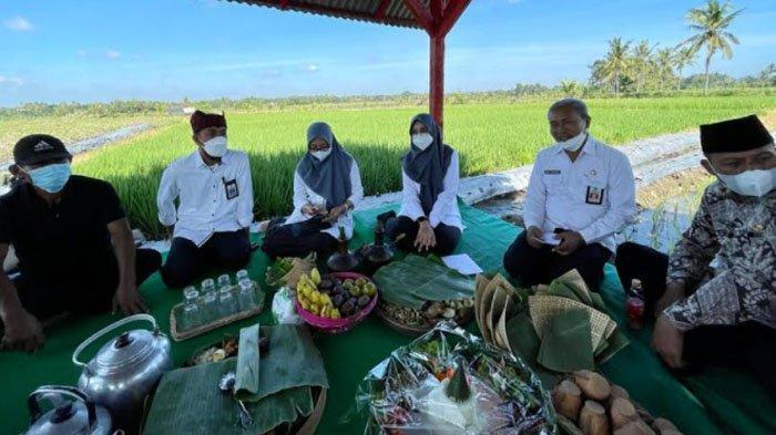 Bupati Banyuwangi Tumpengan Peringati Hari Lahir Pancasila Bersama Petani di Singolatren