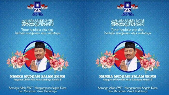 BREAKING NEWS Anggota DPRD Surabaya Hamka Mudjiadi dan Putra Bambang DH Meninggal Dunia