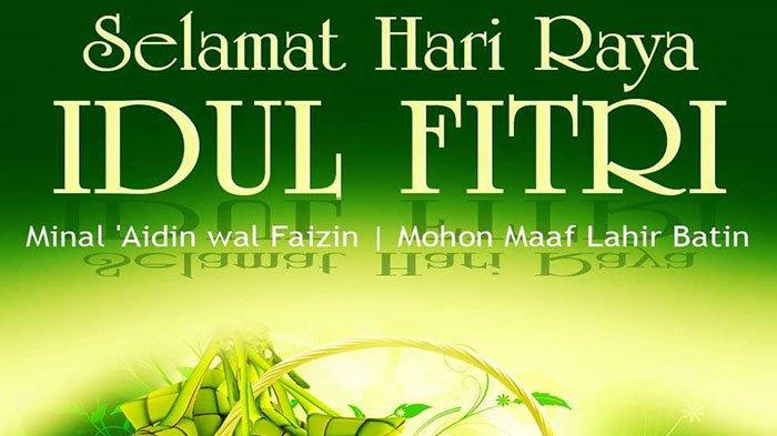 Kumpulan Ucapan dan Gambar Selamat Idul Fitri 1439 Hijriah yang Penuh Dengan Makna