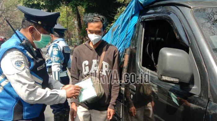 Operasi Gabungan di Kota Malang, Ada 10 Kendaraan yang Ditilang