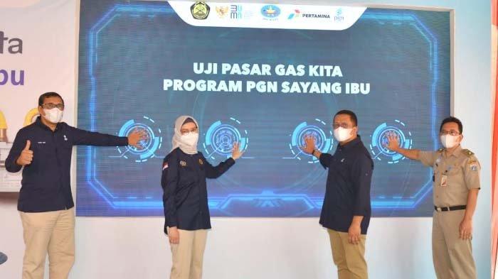 Subholding Gas Pertamina Uji Pasar Program PGN Sayang Ibu Gaskita di Jakarta dan Tangerang