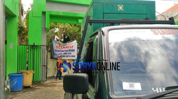 UNBK SMP Hari Pertama di Surabaya Terkendala Server, Ujian Molor, Listrik juga sempat Padam