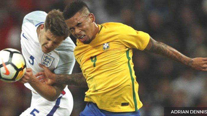 Susunan Pemain Serbia Vs Brasil - Gabriel Jesus Jadi Ujung Tombak, Kapten Tim Dipegang Joao Miranda