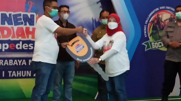 Nasabah Simpedes Unit Semolowaru Raih Honda Mobilio di PHS Periode I tahun 2021