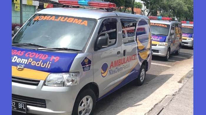 Upaya Penanganan Pandemi Covid-19, NasDem Jatim Siap Luncurkan Mobil Ambulans