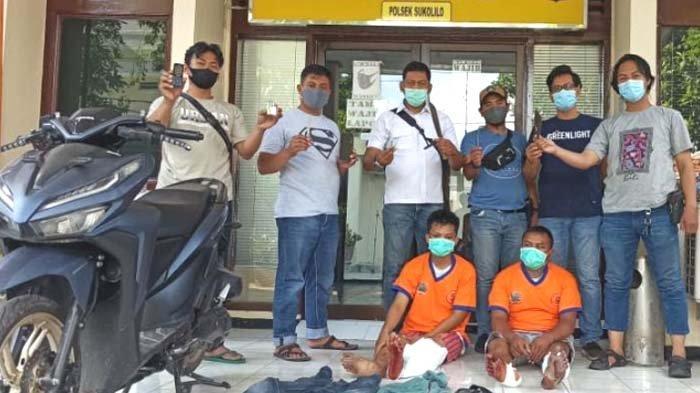 Polisi Tembak Dua Maling Motor di Surabaya, Dua Lainnya Berhasil Kabur ke Perkampungan