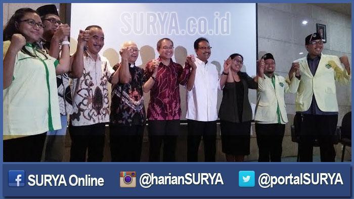 Pemuda Katolik Surabaya dan Sidoarjo Berseru: Jangan Ganggu Pancasila!