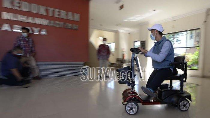 Kursi Pintar Disabilitas untuk Mahasiswa Berkebutuhan Khusus di UM Surabaya