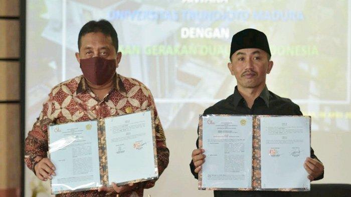 Bersama Gerakan 25 Indonesia, Universitas Trunojoyo Wujudkan Langkah Konkrit Berdayakan Warga Miskin