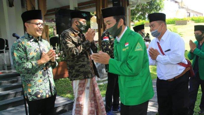 Bertemu GP Ansor Banyuwangi, Bupati Anas Bangun Kolaborasi Hadapi Covid-19