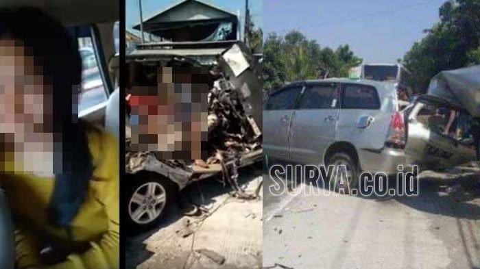 UPDATE 5 Fakta Video Sebelum Kecelakaan Selorejo Nganjuk, Sosok Baju Merah hingga Identitas Korban
