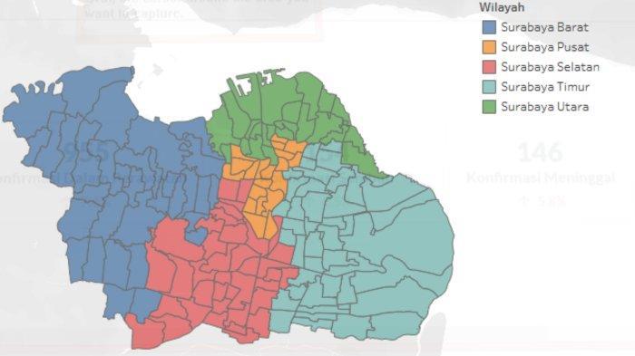 Update Virus Corona di Surabaya dan Jatim, Kamis 21 Mei 2020: Tambah 311 Kasus, Total Covid-19 1566