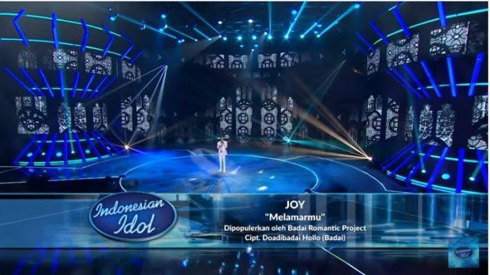 HASIL Showcase Indonesian Idol 2021: Joy Dapat 4 Standing Ovation, ini Nama Peraih Voting Tertinggi