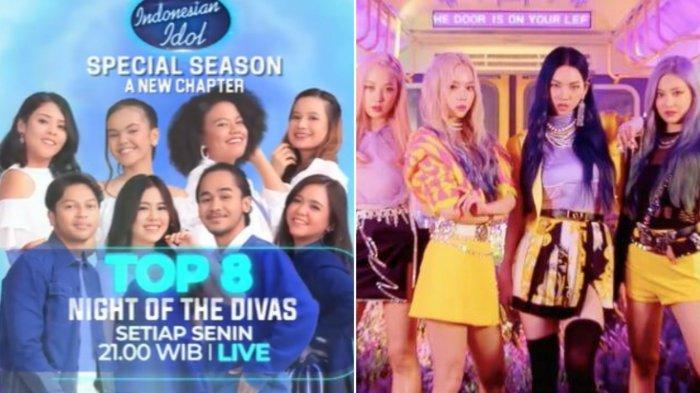 Update Jadwal Indonesian Idol 22 Februari 2021: Biodata 8 Kontestan dan Bintang Tamu K-Pop Aespa