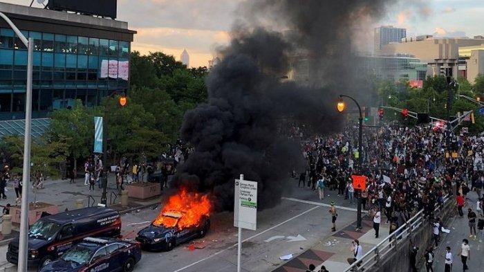 UPDATE Kerusuhan di Amerika, Ini 5 Fakta Terbaru Kasus George Floyd