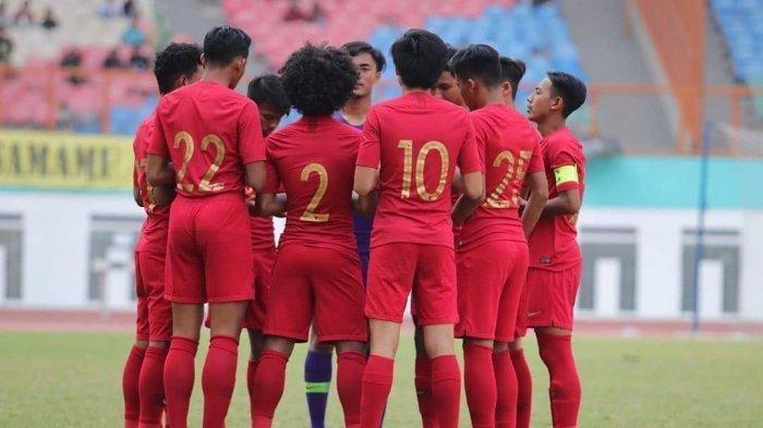 Sontekan Bechkam Samakan Skor 1-1 antara Timnas Indonesia vs Malaysia di Semifinal Piala AFF U-18