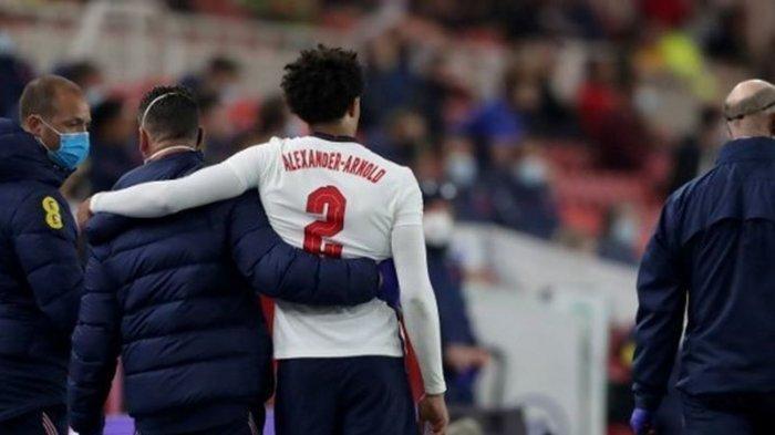 Update Kondisi Trent Alexander Arnold: Dicoret dari Skuad Timnas Inggris di Euro 2020?