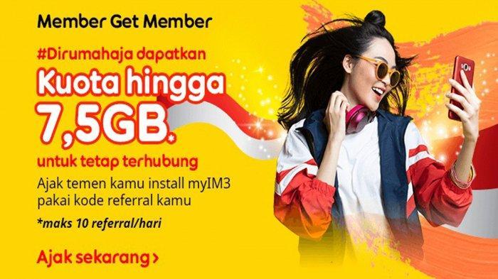 UPDATE Kuota Internet Gratis Indosat Ooredoo di Bulan Ramadan 2021, Dapatkan 7,5 GB dengan Cara ini