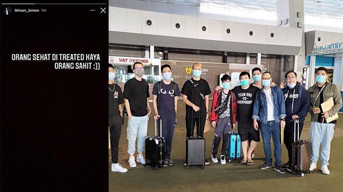 Pemain RRQ Hoshi Ungkap Rasa Kecewa Meraka saat Isolasi Jelang M2 World Championship di Singapura