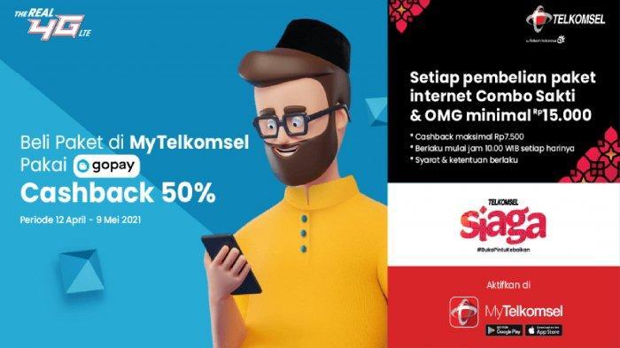 UPDATE Paket Internet Murah Telkomsel Dapat Cashback 50 Persen, Ada Juga Kuota Internet Gratis