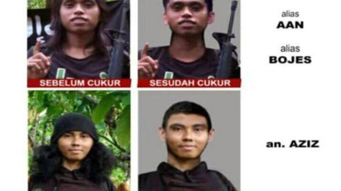 Bojes dan Azis, dua anggota KKB Ali Kalora yang sedang diburu Satgas Tonombala. Updatenya bisa disimak di artikel ini