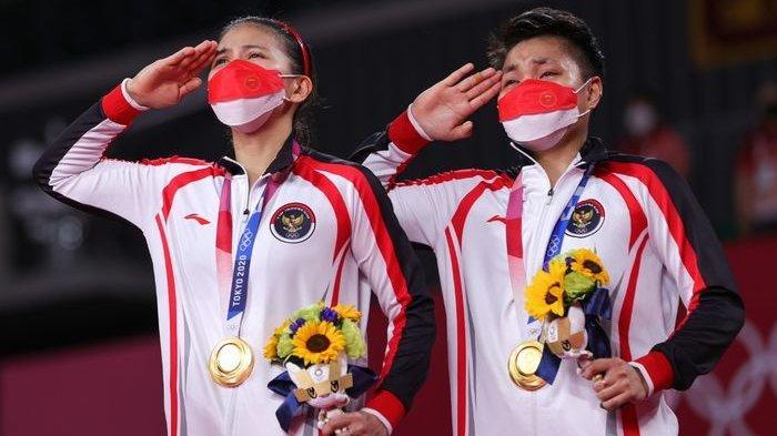 Update Peringkat BWF Greysia Polii/Apriyani Rahayu Usai Raih Emas Olimpiade Tokyo 2020