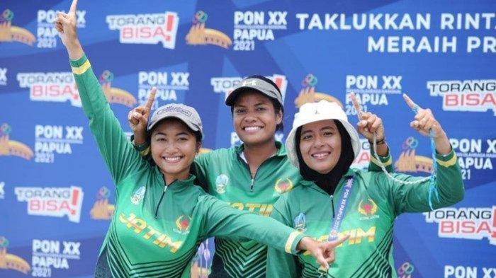 Update Klasemen Perolehan Medali PON XX Papua 2021: Jabar Tertinggi, Jatim Bertahan di Empat Besar