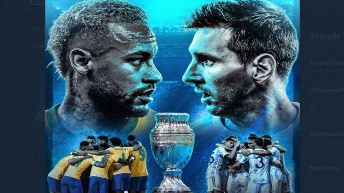 Copa America, Kolombia vs Peru, Perebuatan Juara 3, Live Indosiar, Pagi Nanti 07.00 WIB