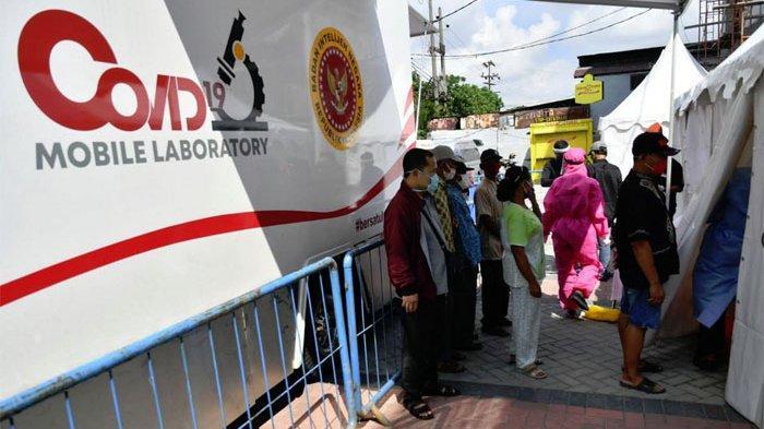 UPDATE PSBB Surabaya, Rapid Test Massal BIN: 127 Reaktif 8 Positif Corona, Tim Mobil PCR Lelah