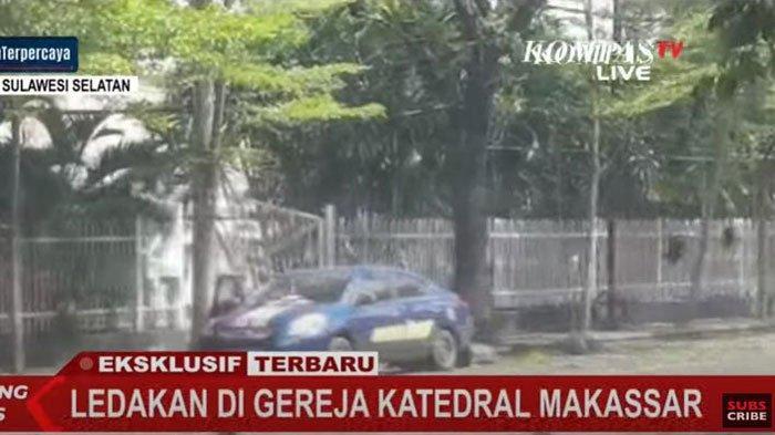 Update Terbaru Bom Gereja di Makassar, Viral Video Diduga Pelaku Terkapar, ini Situasi di Lokasi