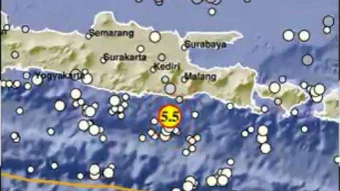 Update Terbaru Gempa di Jawa Timur: Terjadi Gempa Susulan Hari ini Minggu 11 April, ini Saran BMKG