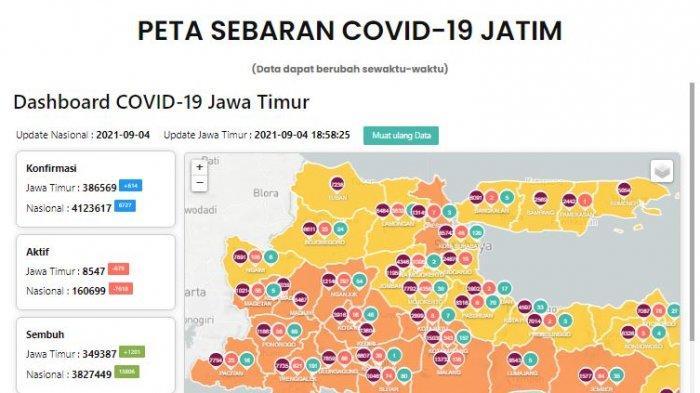 Update Virus Corona di Surabaya 4 September & Peraturan Sekolah Tatap Muka Mulai Senin