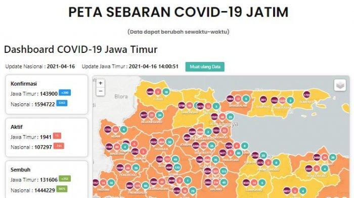 Update Virus Corona di Surabaya 17 April: Daftar Daerah Aglomerasi & Titik Penyekatan Larangan Mudik