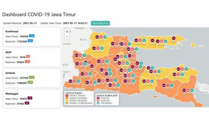 Update Virus Corona di Surabaya 11 Mei 2021