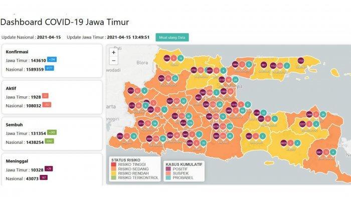 Update Virus Corona di Surabaya, Kamis 15 April 2021: PPKM Mikro Berlaku, Pembukaan Taman Dievaluasi