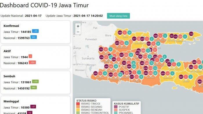 Update Virus Corona di Surabaya, Sabtu 17 April 2021: Tambah 29 & Tes Genose di Pelabuhan