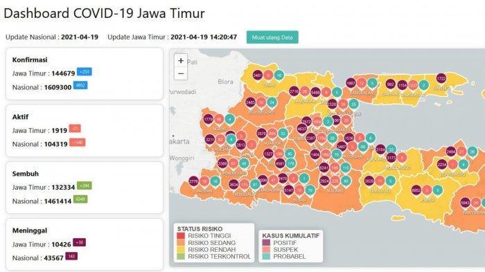 Update Virus Corona di Surabaya, Senin 19 April 2021: Info Daftar 20 Lokasi Penyekatan Jalan