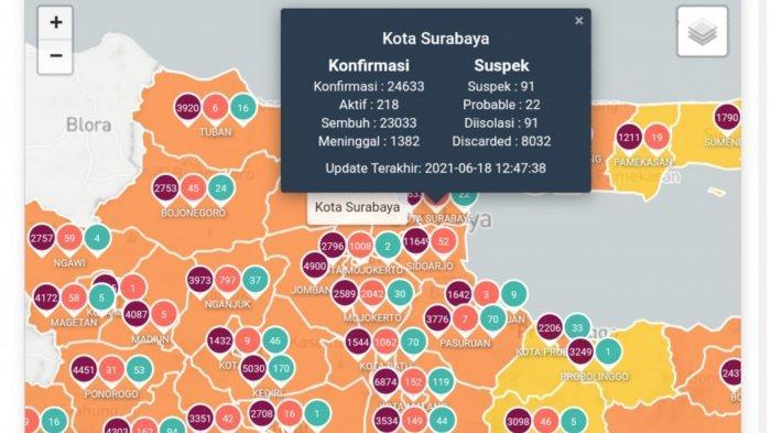 Update Virus Corona di Surabaya 19 Juni 2021: TNI Polri Turun Pasca Ricuh Penyekatan Suramadu
