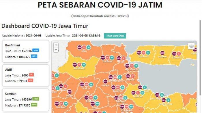 Update Virus Corona di Surabaya 9 Juni 2021, Tracing Pendatang dari Madura & Swab di Suramadu