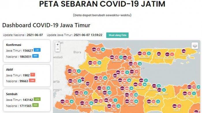 Update Virus Corona di Surabaya 8 Juni 2021, Jadwal dan Aturan Penyekatan di Gerbang Suramadu