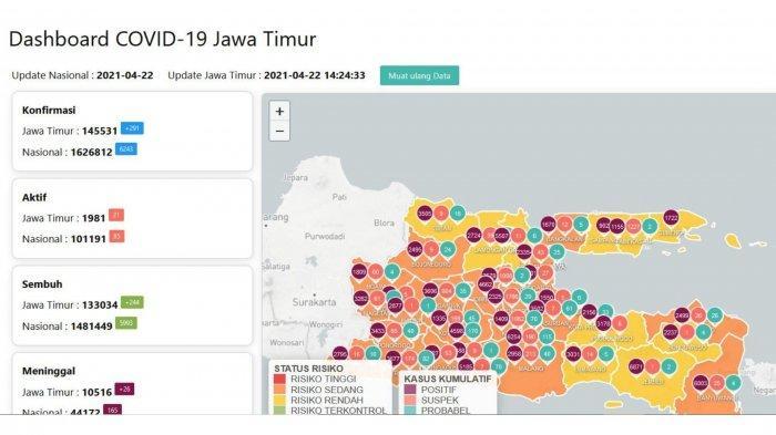 Update Virus Corona di Surabaya, Kamis 22 April 2021: Larangan Mudik Berlaku, Ini Aturan Lengkapnya