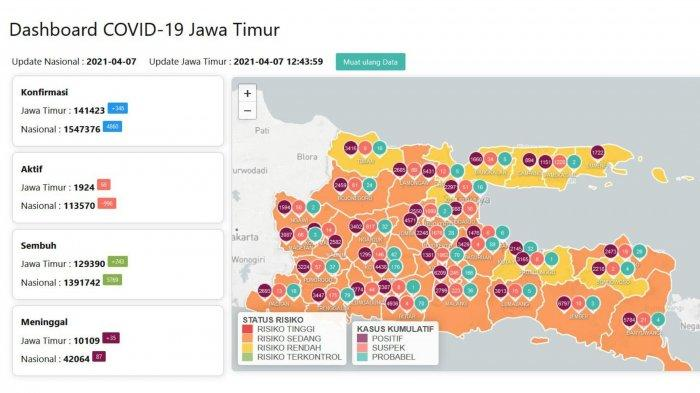 Update Virus Corona di Surabaya, 7 April 2021: PPKM Mikro Jilid 5 & Kepastian Sekolah Tatap Muka