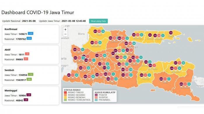 Update Virus Corona di Surabaya, Sabtu 8 Mei 2021: Pemkot Tiadakan Sholat Idul Fitri Berjamaah