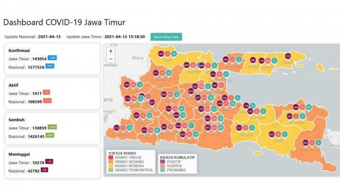Update Virus Corona di Surabaya, Selasa 13 April 2021: 2 Tempat Hiburan Ini Boleh Buka Saat Ramadan