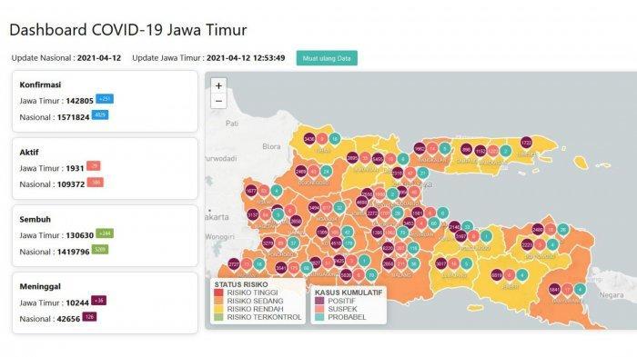 Update Virus Corona di Surabaya, 12 April 2021: Aturan Shalat Tarawih di Masjid Selama PPKM Mikro